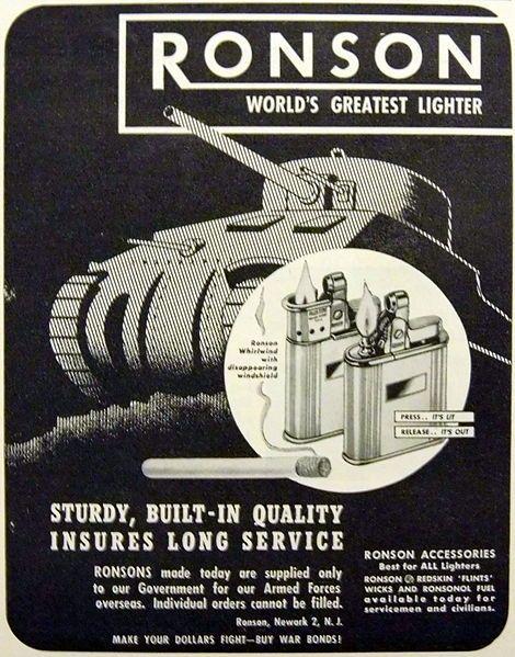 Ronson (1944).