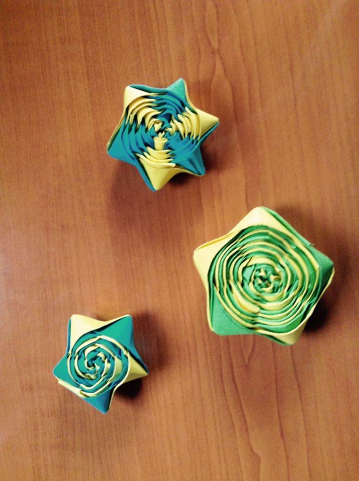 Some origami star | Rareș Neagu on Patreon