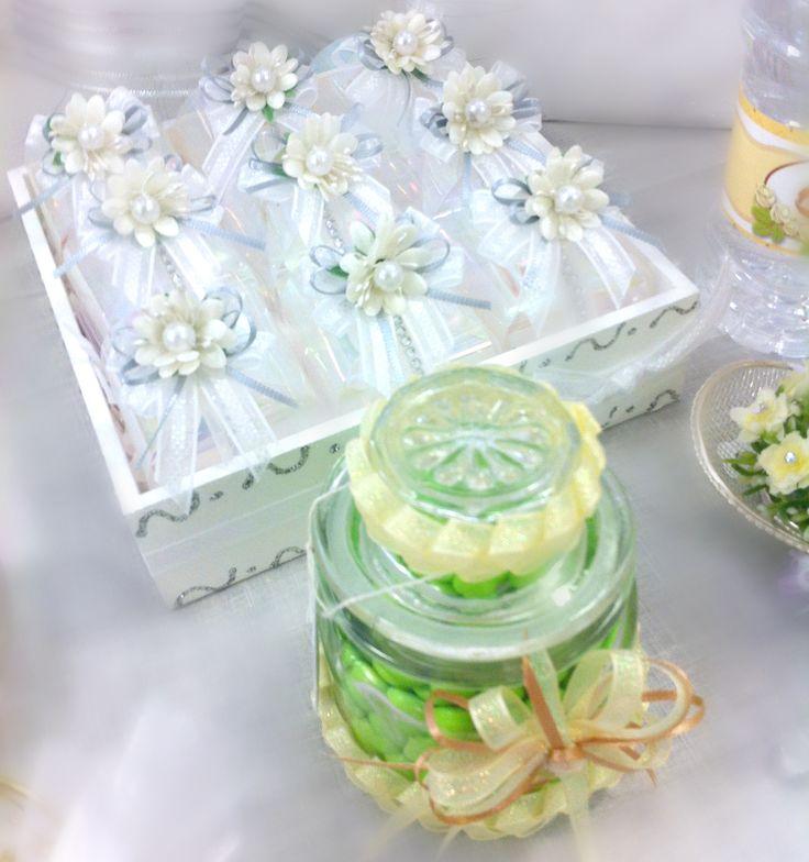 Barra de dulces para bodas / Decoración de boda
