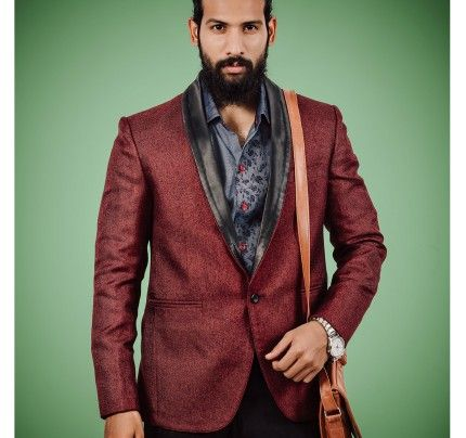 "Antique Design Jacket Routeen Party Wear Mens Waist Coat  ""Occasion: Festive, Ceremony & Ethnic Wear Wash Care : Dry Clean Only Styling: Slim Fit Material: Fabric Size : Medium Stand out in the next book launch with this ethnic jacket from Routeen. Made from jute , this sleeveless jacket has mandarin collar. You can team this jacket with Indo-western wear and look smart."" Buy Now : http://www.antiquefashionhub.com/men/jackets-blazers-for-men.html"
