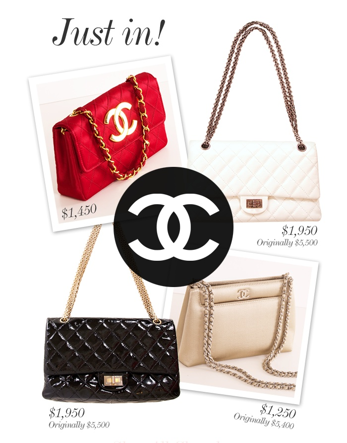 Just In! Chanel, Chanel, Chanel!