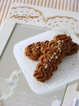「チョコレートの絞り出しクッキー♪」さおり   お菓子・パンのレシピや作り方【corecle*コレクル】