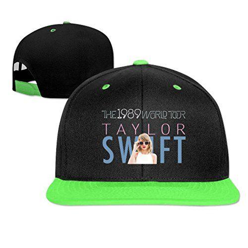 Men's Women's Cotton Taylor Swift 1989 World Tour Snapback Hip-hop Hat Cap
