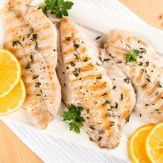 This Grilled Rockfish recipe packs lots of garlic and basil.  Delicious! - Grilled Rockfish with Garlic and Basil