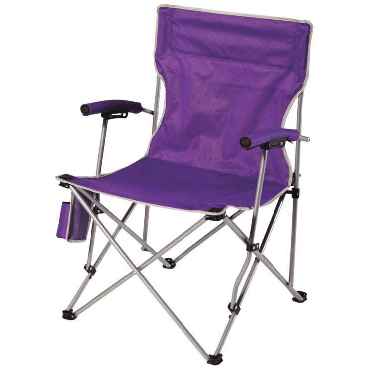 Quest Hard Arm Chair, Purple