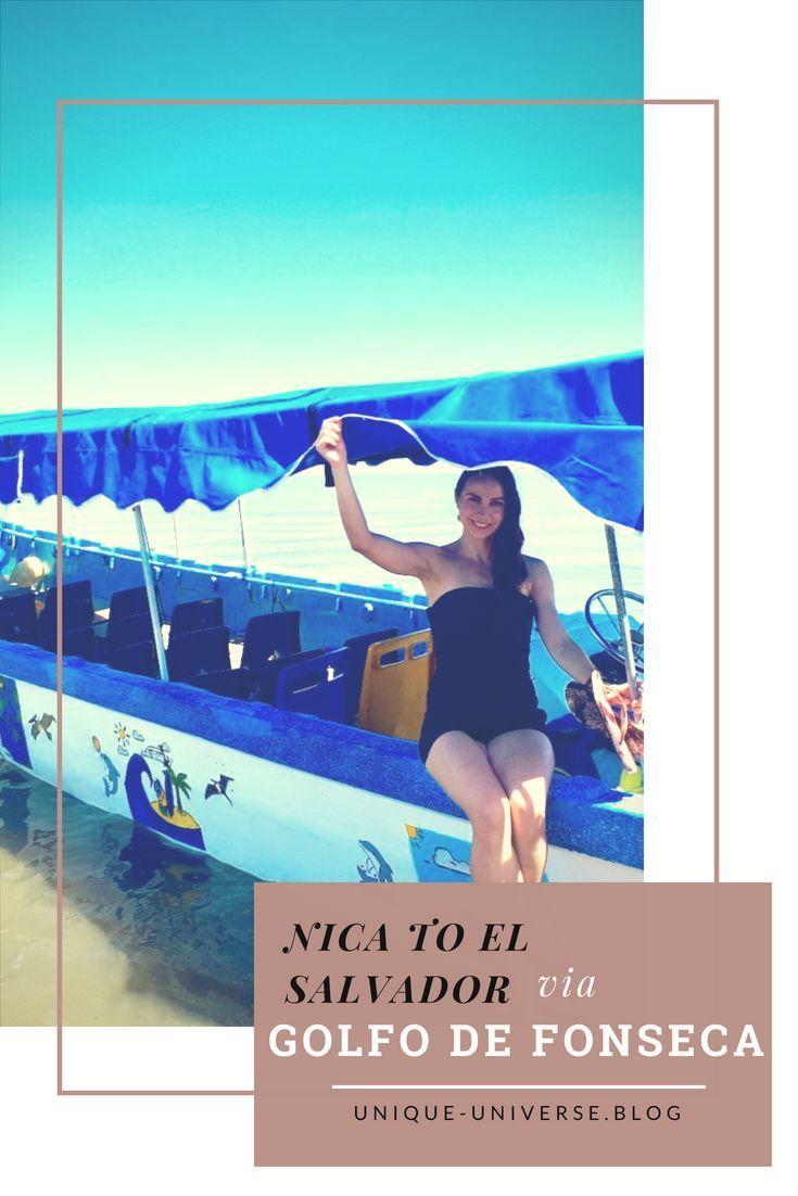 How To Cross The Border Between Nicaragua And El Salvador By Boat Mittelamerika Mexiko Reisen