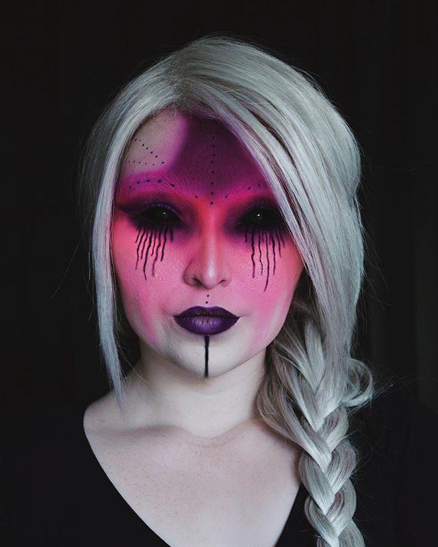 WEBSTA @ anoetic.makeup - Lust•••face - lock it foundation. lock it white out concealer. matte metals palette. morphe 35b palette. thunderstruck metal crush. transylvania liquid lip with colourpop marshmallow in the center. vivid brights liner. •••#makeup #katvondbeauty #morphe #morphe35b #mattemetals #mattemetalspalatte #lust  #lockitrevolution #whiteoutconcealer  #motd #vividbrights #undiscoveredmuas #fotd #myfacehurts #littlelust #nyxcosmetics #transylvania