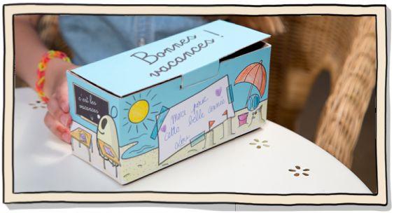 Illustration La boîte à gourmandises