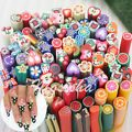 10X 3D Fruit Flower Nail Art Fimo Can...