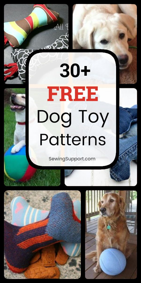 Dog Diy Toys 30 Free Dog Toy Diy Projects Tutorials And Sewing