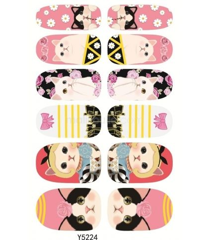 Stickers pour ongles Choo Choo
