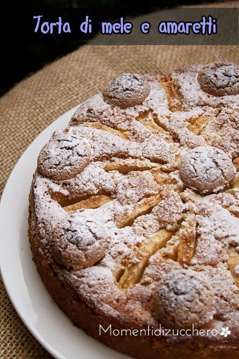 La visione di questa torta di mele mi ha letteralmente conquistata, ho deciso che dovevo provarla...con qualche piccola modifica per...