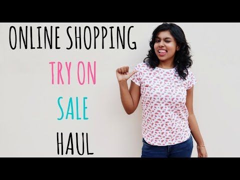 Online Shopping Try On Sale Haul - Myntra, Jabong, Flipkart, Ajio from online shopping websites during the Big Billion day sale is all in today's video. All of the clothing came on good discounts and I stocked up on summer basic like jeans, tees, graphic t shirts etc which are wearable by all.