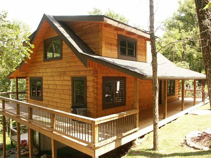 9 best log home porches decks images on pinterest for Log cabin porches and decks