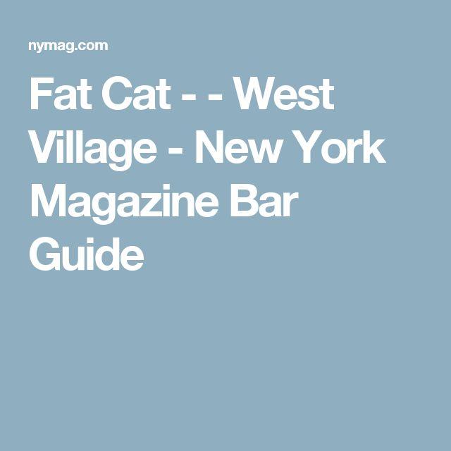 Fat Cat - - West Village - New York Magazine Bar Guide