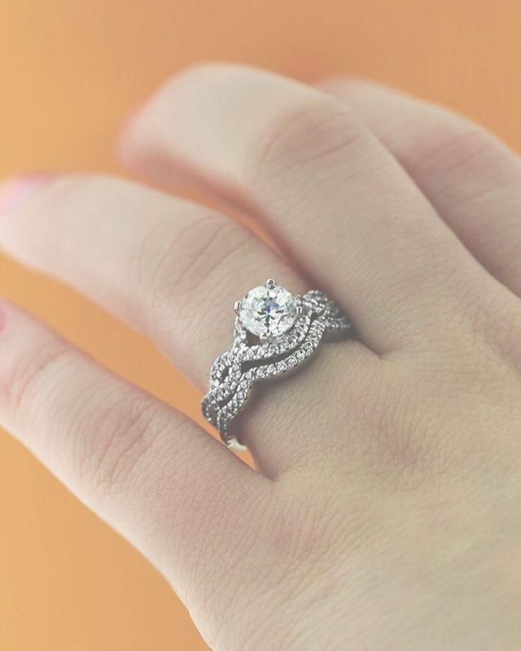 Infinity Wedding Set Wedding Sets Infinity Ring Wedding Infinity Wedding Elegant Wedding Rings
