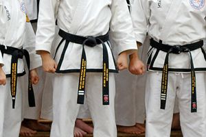 Black belt meets self actualization because it means you've met the highest status in the martial art.