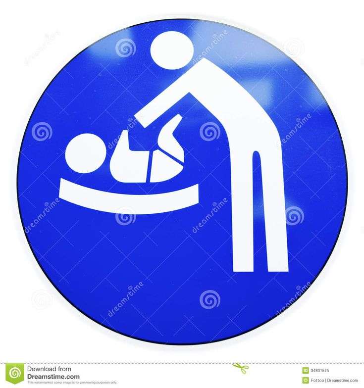 Baby Diaper Change Clipart Diaper Changing Table Sign At - Clipart Kid