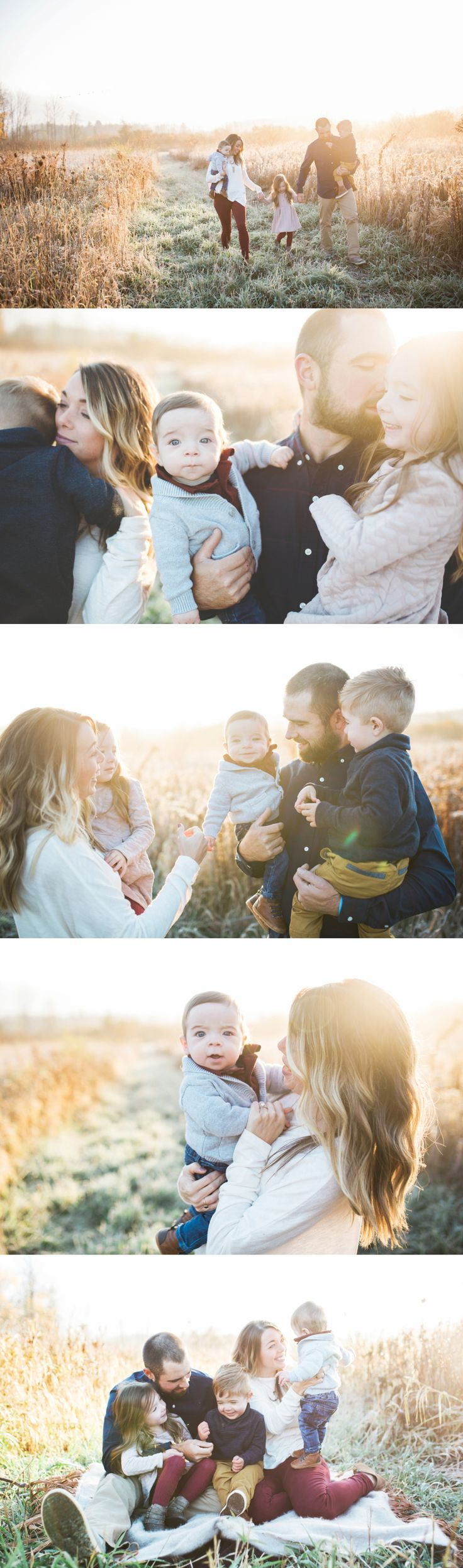 Fall family pictures >> lifestyle family pictures <3