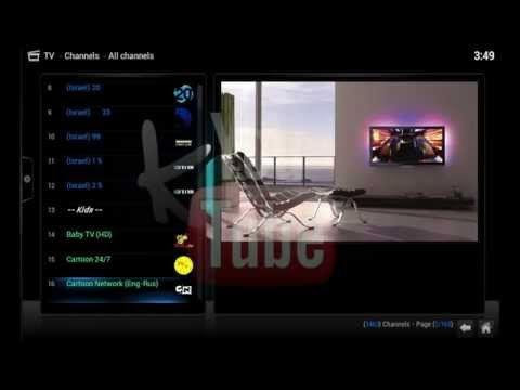 How To Set Up Live TV PVR With XBMCBBTS M3U URL On Kodi (xbmc) 1,000+ Channels! - YouTube