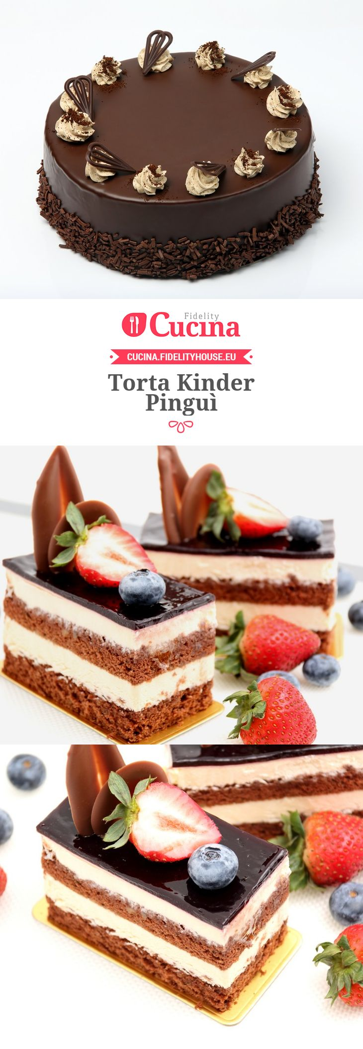 Torta Kinder Pinguì