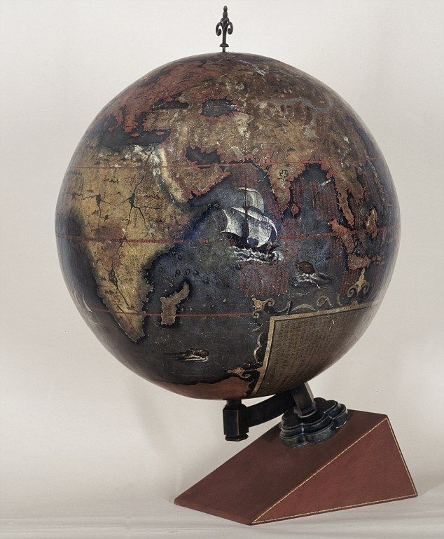 Chinese Globe 1623 231 best maps vintage