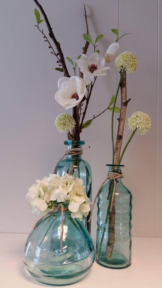 Decoratietakken en zijde bloemen, Makkelijk en mooi. www.decoratietakken.nl