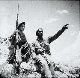 La Batalla de Brunete Oliver Law, primer afroamericano al mando de un batallon de soldados americanos, muerto en esta batalla.