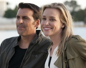Eyal and Annie - Covert Affairs