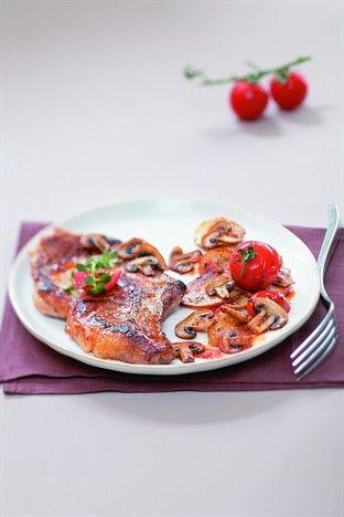 Côtes de porc au vin blanc - Larousse Cuisine