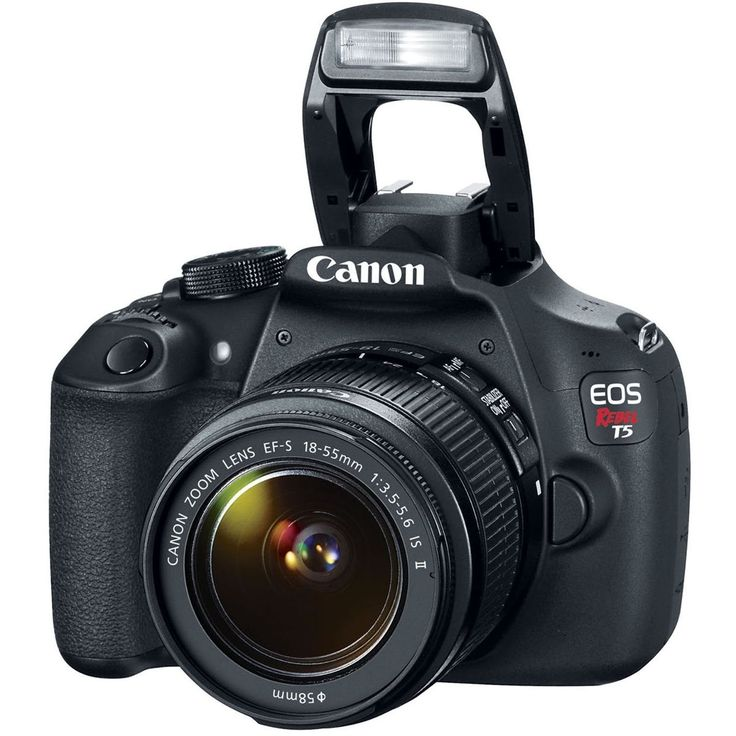 camara fotografica canon eos t5. lente: ef-s 18-55 mm