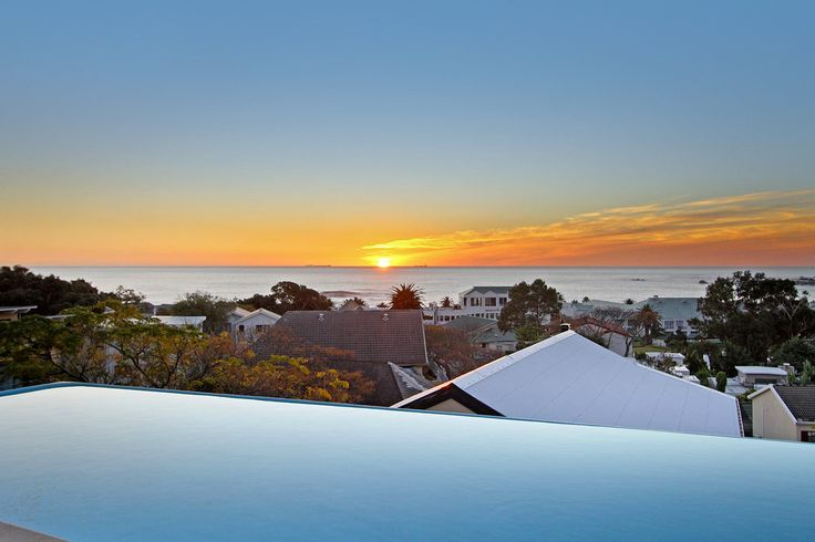 Sunset in the Heart of Camps Bay.