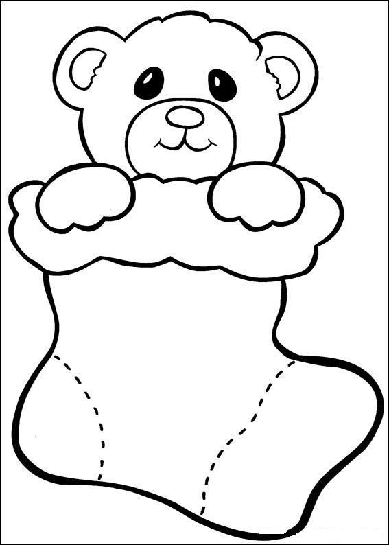 173 best images about Christmas Coloring Pages on Pinterest