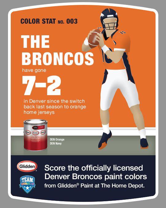 17 best images about team colors on pinterest patriots for Denver broncos colors