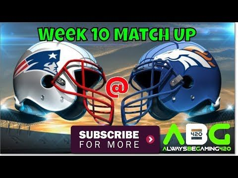 New video is now LIVE! Check it out: Sunday Night Football New England Patriots @ Denver Broncos Week 10 Madden NFL 18 Gameplay https://youtube.com/watch?v=kQWSoFcHYzs