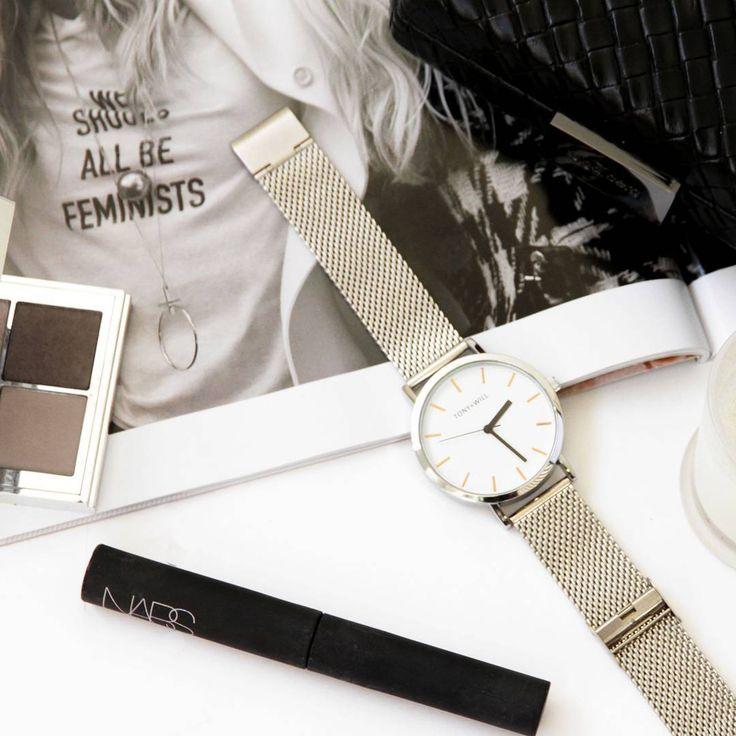 Instagram // Time for Saturday night essentials. #tonyandwill #watch #instagram