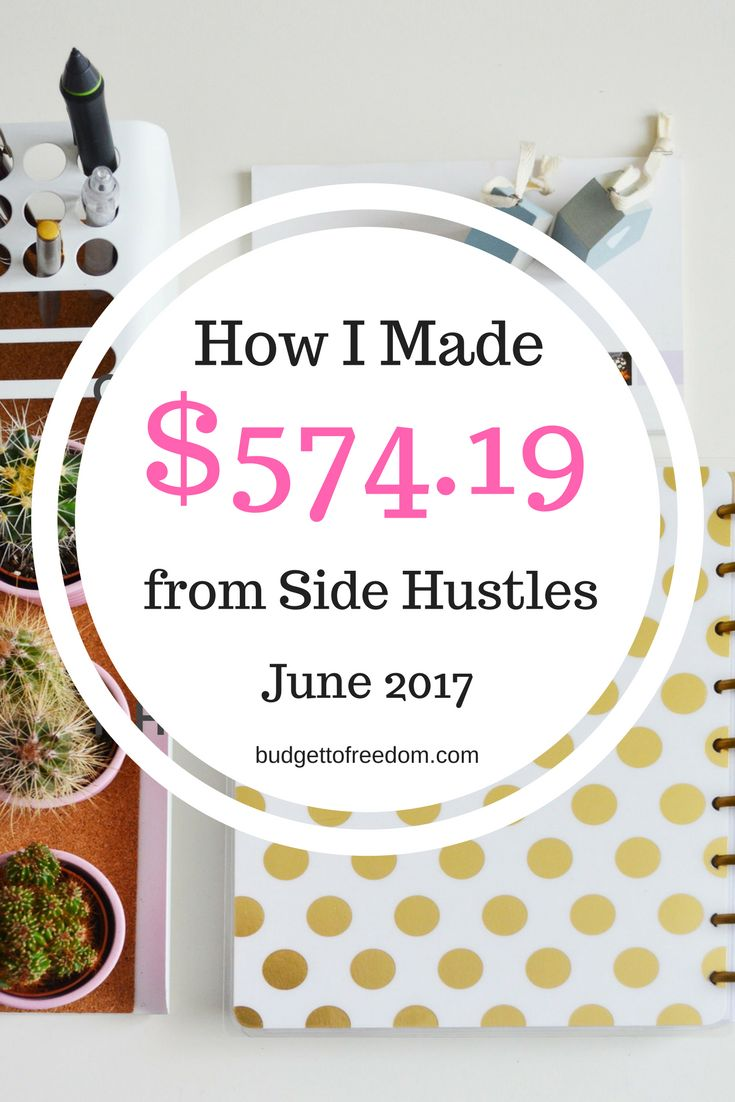 How strong is your side hustle game? I'm trying to improve mine by reflecting on what I've learned so far.  Click through to see how I've made $574.19 in side hustles this month.