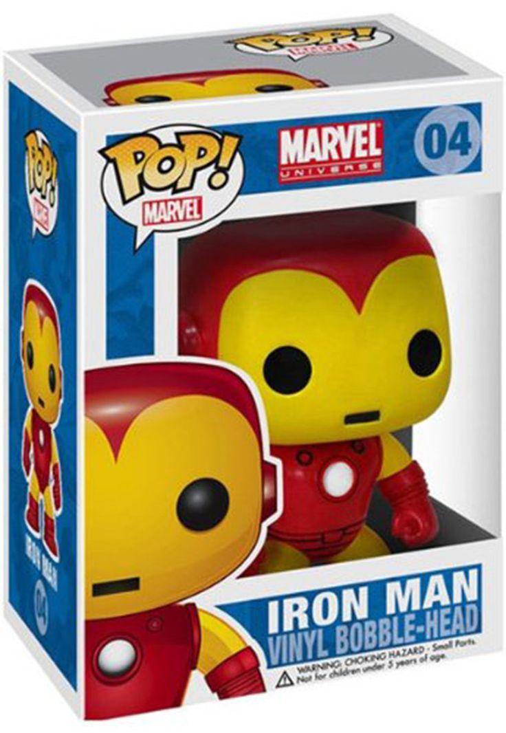 Marvel Universe Funko Pop! Iron Man Vinyl Bobble-Head