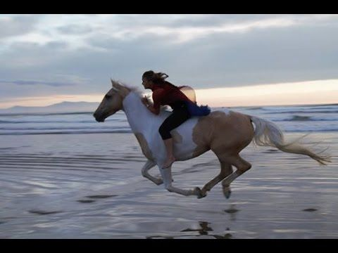 I love Alycia Burton ... Compelling life-changing story.  Her connection with her horse is amazing.