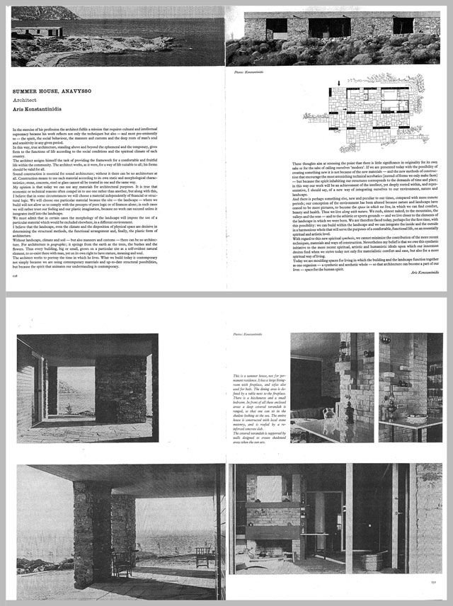 Article: The Art of Building Reception: Aris Konstantinidis behind the Global Published Life of his Weekend House in Anavyssos (1962–2014)