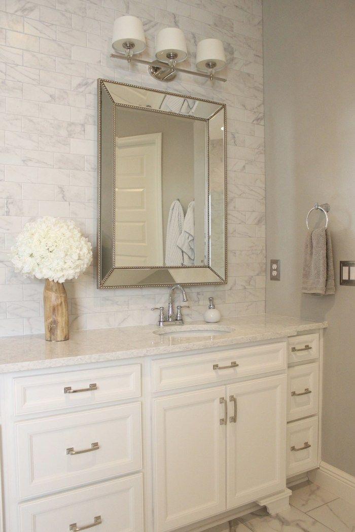 Diy Easy Bathroom Tile Wall Frills Drills Bathroom Tile Diy Bathroom Wall Tile Diy Wall Tile