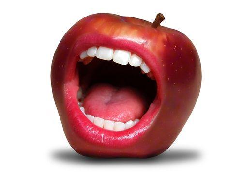 Яблочная полость рта #стоматология #dentistry