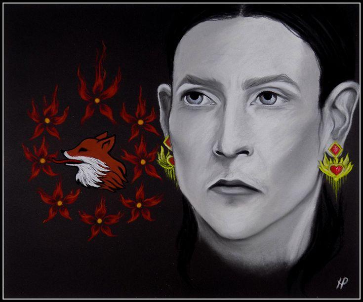 Selyse Baratheon (art by Anastasia Robozeeva)
