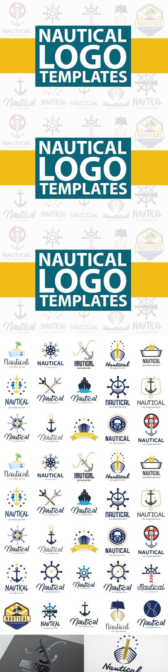 Nautical Logo Templates. $9.00