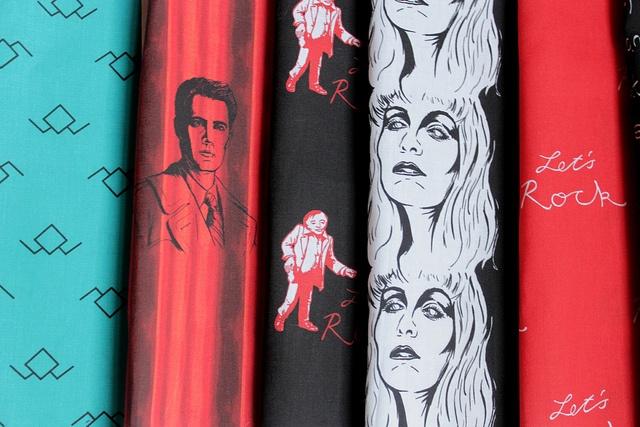 /// twin peaks fabric