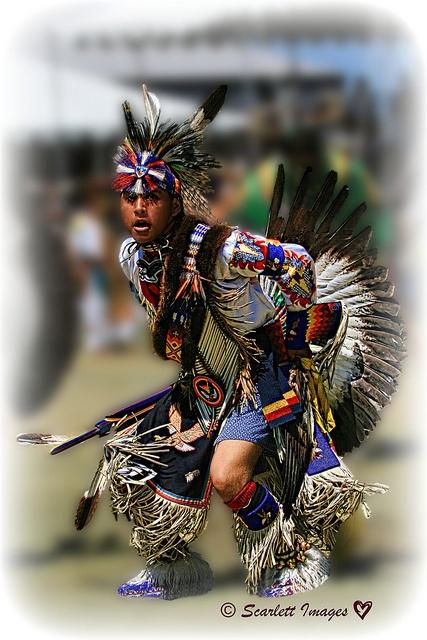 Warrior Dancer, via Flickr.