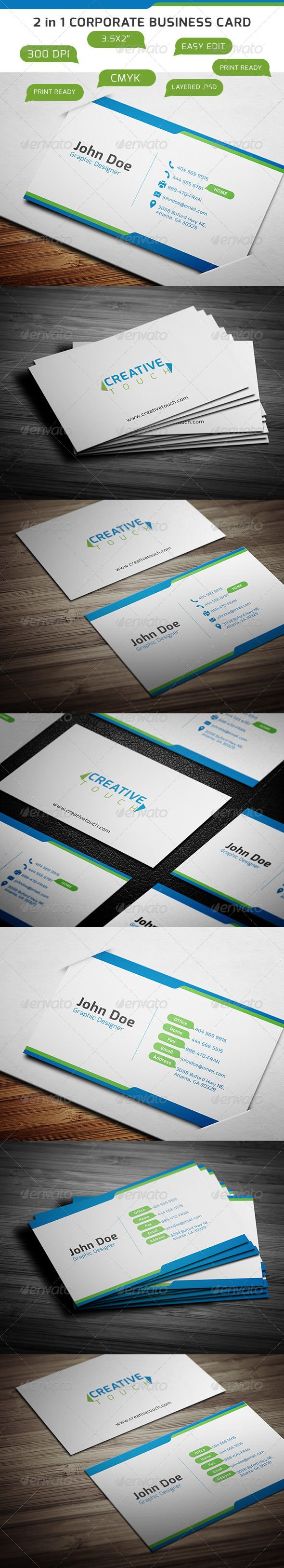 Free Quark Business Card Template Gallery - Card Design And Card ...