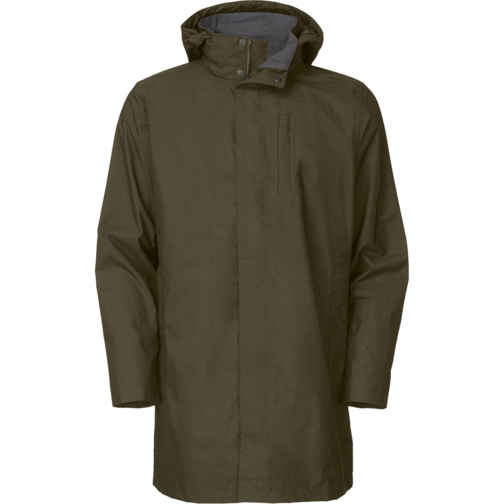 The North Face Vince Trench Coat - Men's | Backcountry.com