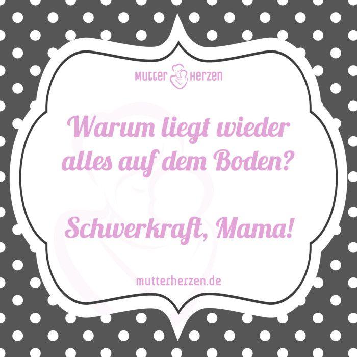 Frech aber clever! ;)  Mehr lustige Sprüche auf: www.mutterherzen.de  #spaß #humor #chaos #unordnung #aufräumen #spielzeug #mutter #kind #spielsachen