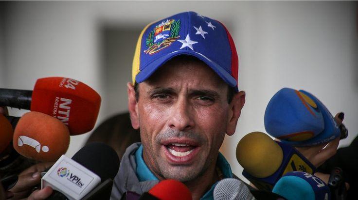 Henrique Capriles: A las que hay que intervenir es a la GNB y a la Policía Nacional Bolivariana por su acción represiva